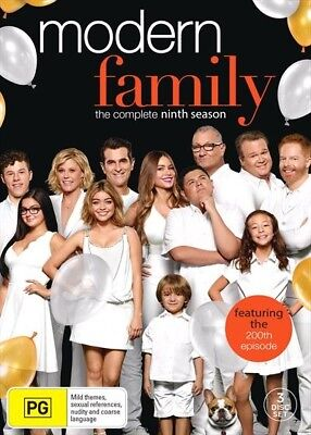 Modern Family : Season 9 : NEW DVD