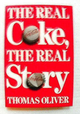 """1986 """"THE REAL COKE, THE REAL STORY"""" by THOMAS OLIVER BOOK"""