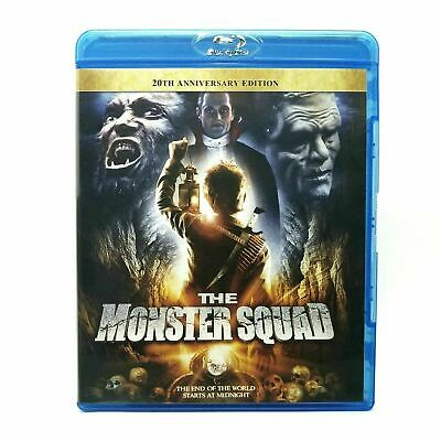 The Monster Squad (1987) Like New 20th Anniversary Edition Blu-ray RARE, O.O.P.