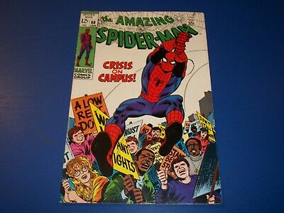 Amazing Spider-man #68 Silver Age Solid VGF