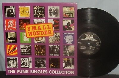 Vinyl Double Lp Set Punk Singles Collection Va Small Wonder Nm Import Vpi Nr