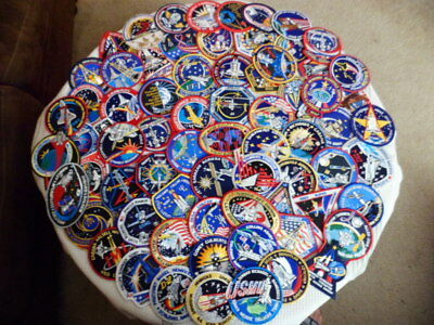 Large Lot of 72 Nasa Mission/Program Patches Genuine New Collectible Gift Resale