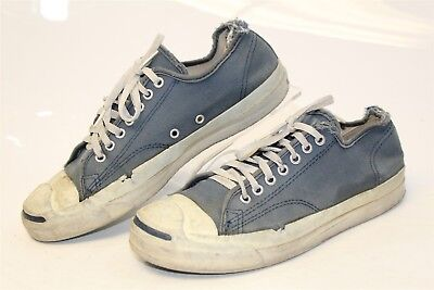 a40f7efa583e15 Converse VINTAGE Jack Purcell USA MADE Mens 9 Canvas Low Top Sneakers Shoes  kzs