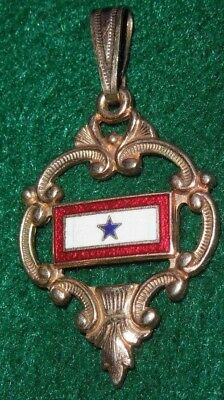 WWII US Military Son In Service Sweetheart Home Front Necklace Pendant