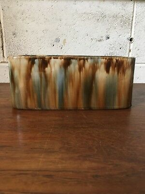 W.C Bennetts Magill Pottery Planter Trough Vintage Drip Glaze Pottery