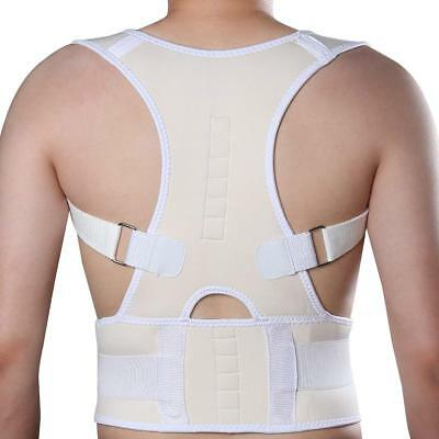 Magnetic Posture Corrector Belt Bad Back Brace Shoulder Support Brace Neoprene