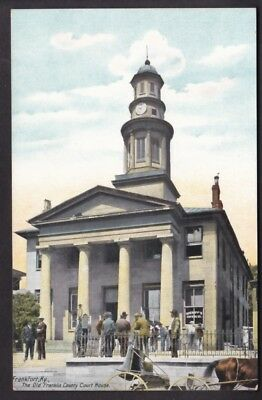 Frankfort, Ky., The Old Franklin Court House