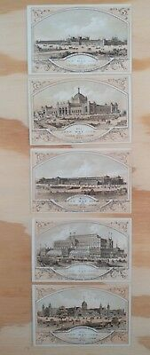 Buildings Card Set with Centennial Commission Members