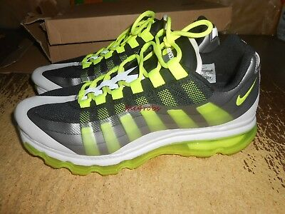 Pair of Nike Air Max 95+ BB Athletic Shoes in Box Size 10  511307-010