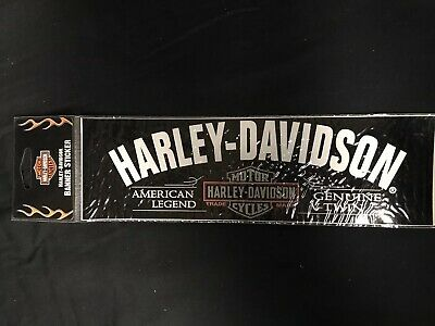 New 2007 HD Harley-Davidson Decal Car Bumper Sticker