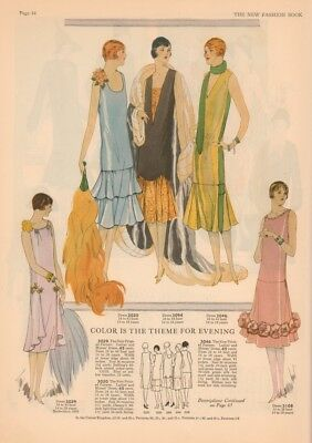 The New Pictorial Review Fashion Book Spring 1926 Paris Fashions for the South+