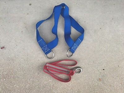 Marine-Boating-Sailing-Lirakis Newport Safety Harness w/6' Tether-EXCELLENT COND