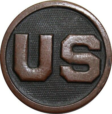 Original US WWI US Enlisted Collar Disc