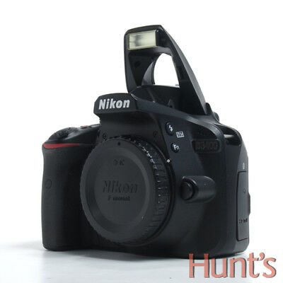 Nikon D3400 Dx Format 24.2Mp Digital Slr Camera Body Only **<2200 Clicks**