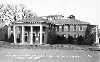 Rppc Postcard Arts Building Dining Hall Ouachita College Arkadelphia Arkansas Ar