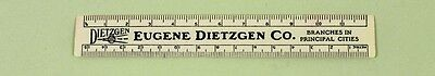 "Vintage 6"" EUGENE DIETZGEN Company Plastic Ruler / Drafting -Surveying Supplies"