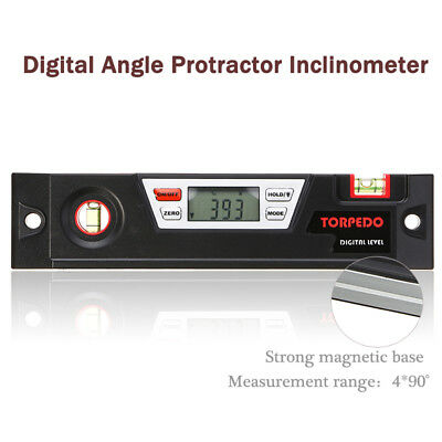 LCD Digital Angle Finder Gauge Meter Protractor Inclinometer Spirit Level