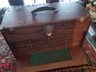 National Cabinet Co.  Machinist Tool Chest Or Jewelry Box