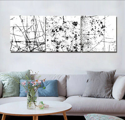 """16x16""""x3pc Abstract Line Tree-Nordic Home Decor Modern Art Printed on Canvas"""