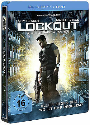 Lockout - Exclusive Limited Edition Steelbook (Blu-ray+DVD) NEU&OVP!