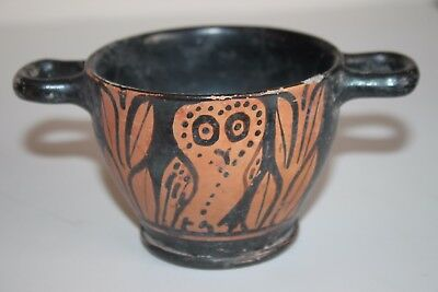 Quality Ancient Greek Red Figure Skythos 4Th Century Bc