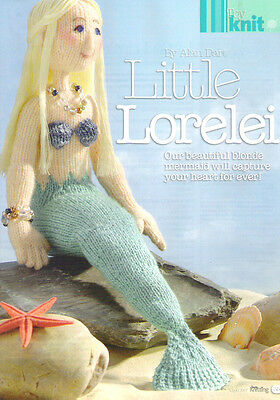 Alan Dart Lorelei Mermaid -  Toy Knitting Pattern
