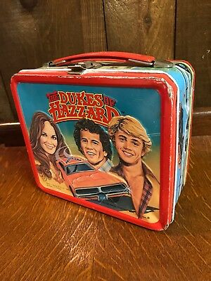 Vintage Dukes of Hazzard 1980 Lunch Box        W/O Thermos