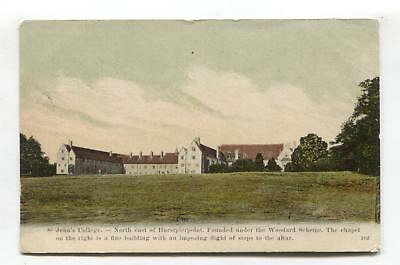 Near Hurstpierpoint - St John's College - 1906 used Sussex postcard