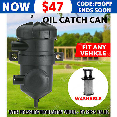 Pro 200 Oil Catch Can fit Holden Patrol ZD30 D40 D4D 4WD Turbo Charge Diesel OZ