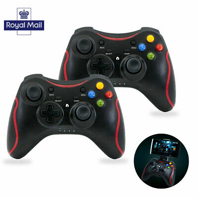 Black for PC Windows 7 10 Joypad Wireless Bluetooth Remote Pad Game Controller
