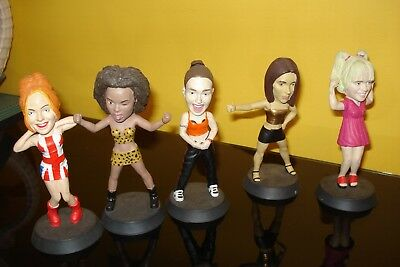 Spice Girls Figurines Scary, Baby, Sporty, Ginger & Posh Spice