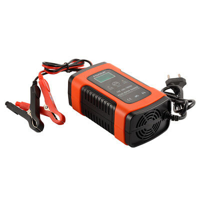 12V 5A Car Motorcycle Battery Desulfator Auto Pulse Repair LCD Charger AC1863