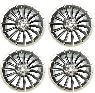 "Set of FOUR 18"" Alloy Wheels Alfa Romeo Brera Spider & 159 New Genuine 156091489"