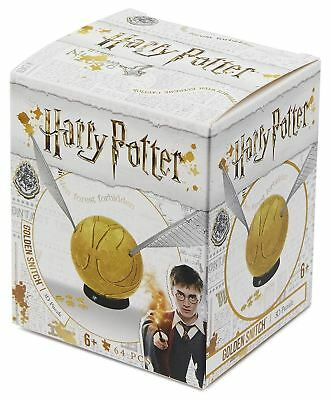 4D Cityscape Offical Harry Potter Golden Snitch Small 3 Inch Puzzle Gifts