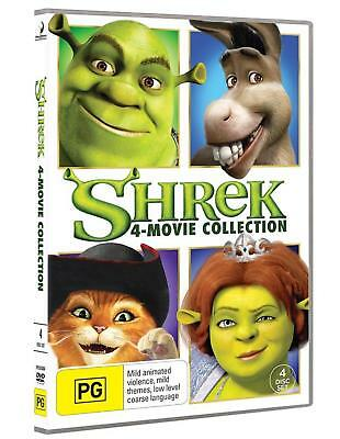 SHREK : 1 2 3 4 Movie Collection : NEW DVD