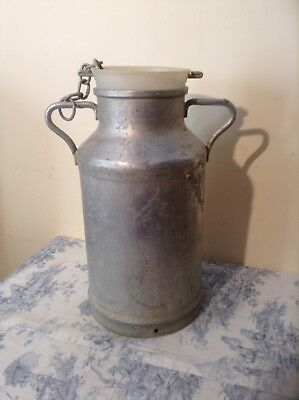 Vintage French Milk Churn - Wedding, Garden Planter, Stick Umbrella Pot (1966)