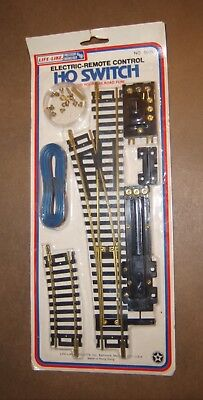 HO Scale Life-Like Electric-Remote Control Switch #8605 Vintage Unopened Package