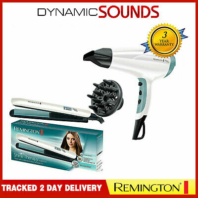 Remington Shine Therapy Hair Dryer & Shine Therapy Hair Straightener