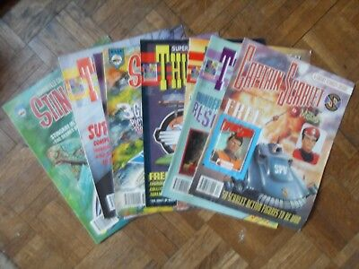 Thunderbirds Captain Scarlet and Stingray The Comic 8 Comics + Free Gift 1993