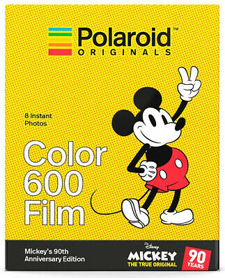 Polaroid Originals Mickey Mouse 90th Anniversary Edition Color 600 Instant Film