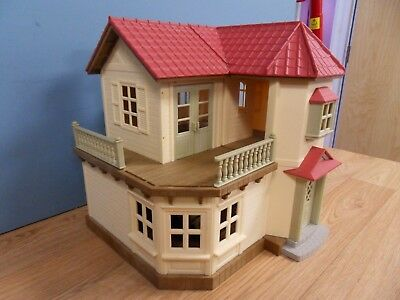 Epoch Sylvanian Families Calico Critters Luxury Town Home Empty