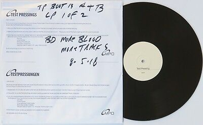 "BOB DYLAN - 2 LP TEST PRESSINGS ""More Blood More Tracks"" MINT & LOOK UNPLAYED"