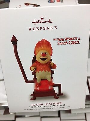Hallmark 2018 He's Mr Heat Miser Ornament The Year without Santa Claus