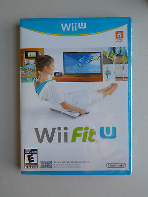 Wii Fit U Game Only New & Sealed! Nintendo Wii U