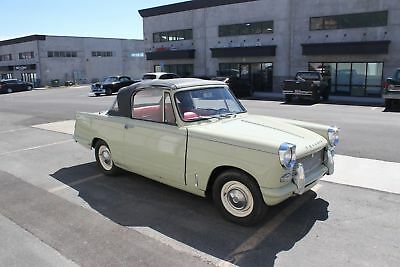 1966 Triumph Herald CONVERTIBLE RARE 1966 TRIUMPH HERALD CONVERTIBLE- LEFT HD,RUST FREE, DRIVES & LOOKS GREAT
