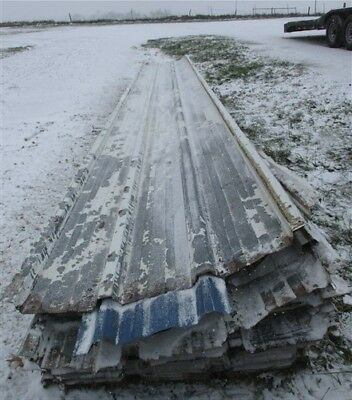 "77 Sheets Barn Tin Corrugated Rustic Architectural Salvage 24'9"" Long 5717 sq ft"