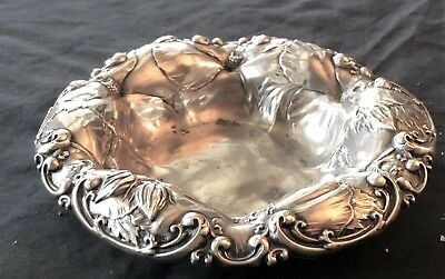 C. D. Peacock Sterling Silver Candy Dish