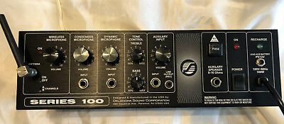 Oklahoma Sound Series 100, Preamp Mixer Equalizer Amplifier **FREE SHIPPING**