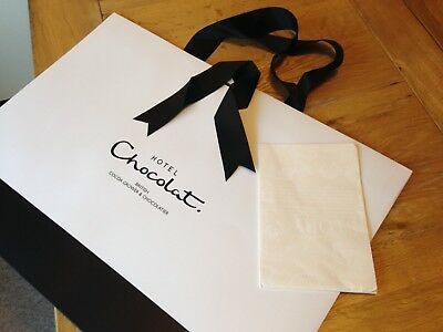 BN - 10 x Hotel Chocolat Bags - Ideal Market/Car Boot Trader