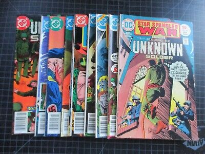 Dc Star Spangled War #185,221,222,238,252,254,258,260,261,265 Unknown Soldier